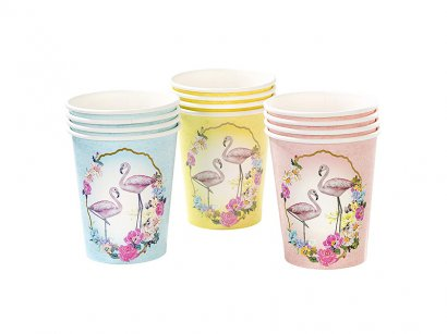 Talking-Tables-Truly-Flamingo-Tazza-255-1-Gram-12-Pezzi-Multicolore-1