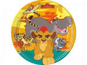 piatti-di-carta-per-Festa-diametro-23-cm-motivo-Disney-The-Lion-Guard-confezione-da-8-1