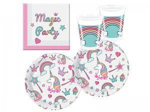 Procos-10118521-Party-Set-Unicorno-Magic-Party-1