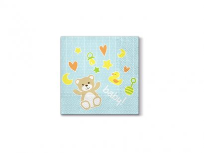 Decorline-20-Tovaglioli-Carta-Baby-Toys-Light-Blue-33x33-cm-3-Strati-1