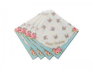 Happy-Birthday-Vintage-Rose-Napkin-1