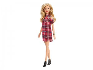 Barbie-Fashionistas-Bambola-con-Vestito-Plaid-1
