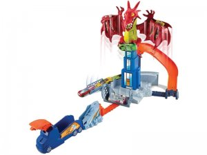 Hot-Wheels-Sconfiggi-Il-Dragone-Playset-per-Macchinine-con-Lanciatore-Mobile-Drago-e-Tanti-Livelli-Include-Un-Veicolo-1