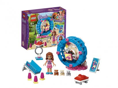 LEGO-Friends-The-game-area-of-​​Olivia's-hamster-1