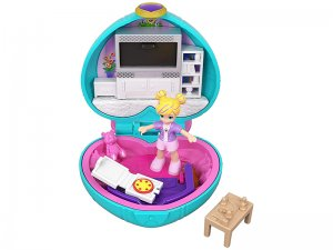 Polly-Pocket-Cofanetto-Il-Salotto-Playset-con-Bambola-1