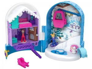 Polly-Pocket-Secret-Snow-Casket-Playset-with-2-Dolls-1