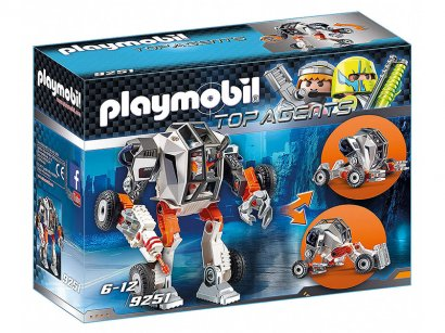 Playmobil-9251-Transformable-Mech-With-Agent-T-1