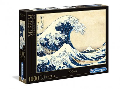 Clementoni-39378-Museum-Collection-Puzzle-Hokusai-The-Great-Wave-1000-Pezzi-1