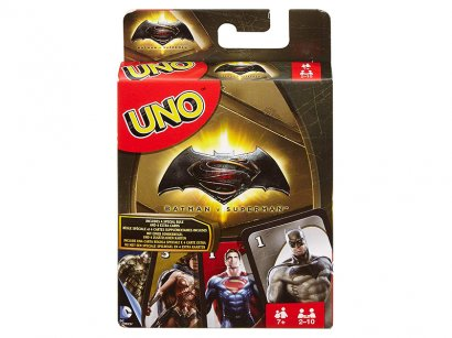 Mattel-DRL58-Carte-da-gioco-di-Uno-Batman-V-Superman-1