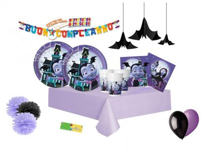 DECORATA-PARTY-Kit-n-54-Addobbi-Festa-Compleanno-Vampirina-Hauntley-1