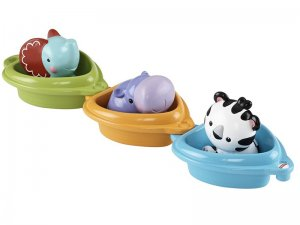 Fisher-Price-CDC04-Barchette-degli-Animali-1