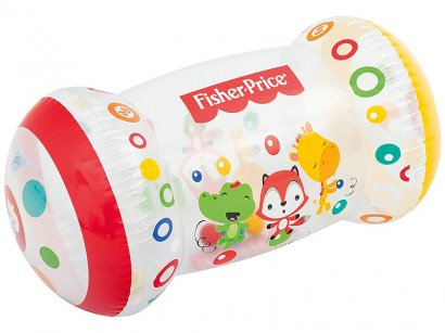 Fisher-Price-Bestway-Gonfiabile-Baby-Roller-Rattle-Sound-Crawling-spingendo-attività-1