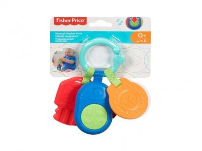 Fisher-Price-Infant-DFP52-Sonaglino-Musicale-Chiavi-Multicolore-1